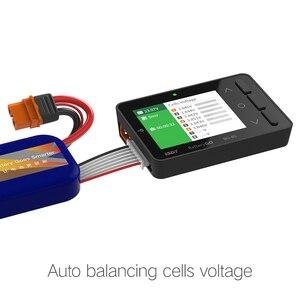 Image 4 - BG 8S inteligentna bateria Checker funkcja szybkiego ładowania Balancer odbiornik Tester sygnału ameter woltomierz IT60i złącze
