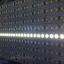 5-20pcs 50cm Led Rigid strip SMD 4014 LED Hard Bar Light 144leds/m Aluminium 0.5m DC 12V Supper brightness