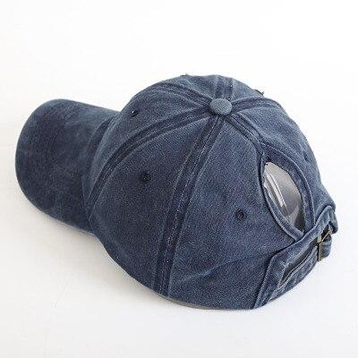 Новая женская летняя бейсбольная бейсболка кепка с сеткой уличный спортивный головной убор модные бейсболки - Цвет: Тёмно-синий
