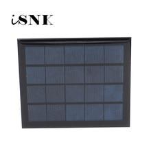 5V 500mA 2 5Watt 2 5W Solar Panel Standard Epoxy Polycrystalline Silicon DIY Battery Power Charge