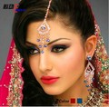 Indian Bridal Jewellery Crystal Rhinestone Earring Set Bollywood Dazzling Wedding Dancing Party Egypt Belly Dance Jewelry