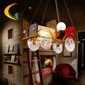 new arrival pendant Led pendant lamp children bedroom Cartoon Pendant Light lampshade Modern boy room Led lights E27