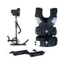 6-12KG Carbon Fiber S-100 Steadycam steadicam Set Pro Stabilizer Photo Props for Studio Video Film Arm Vest DV camcorder