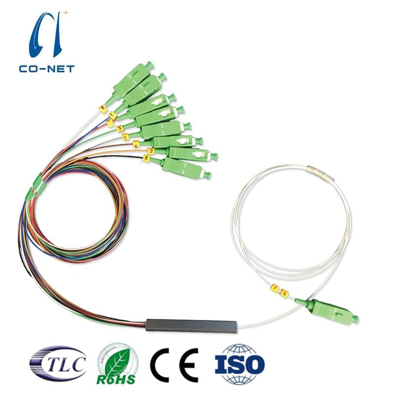 1x8 PLC Splitter SC/APC  1M