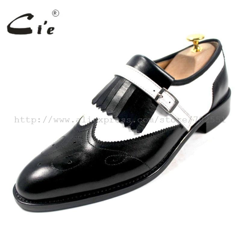 nappe nero uomo in Coy di pelle suola in fibbia mano vitello stampata traspirante on bianco a in con pelle n scarpe da slip P6PSw8xq
