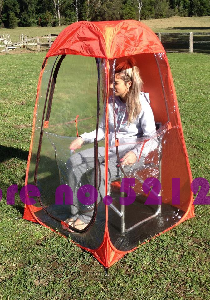 single person Automatic pop up Privacy keep warm rain proof sun shade awning watching sport spectator canopy fishing beach tent-in Tents from Sports ... & single person Automatic pop up Privacy keep warm rain proof sun ...