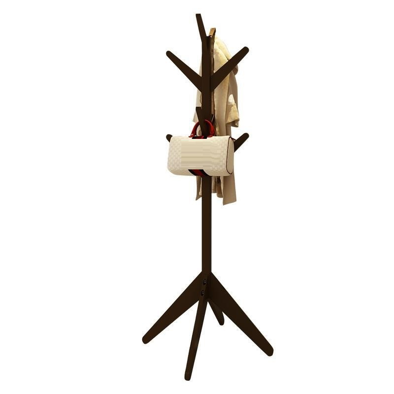 European-style wooden coat simple fashion hanger creative tree clothes bedroom floor racks clothing rack 2016 new coatrack floor hanger bedroom floor racks non wood special offer fashion simple coatrack
