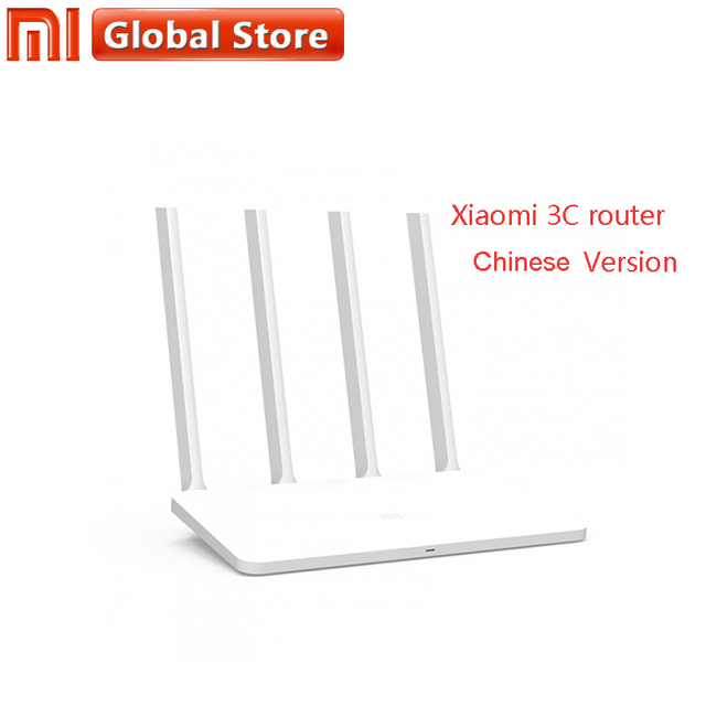 US $29 99 |Chinese version Original Xiaomi Mi WIFI Router 3C 64 RAM 802 11N  2 4G 300Mbps Smart APP Control Band Wireless Routers Repetidor-in Wireless