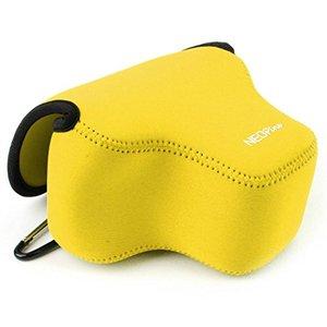 Image 3 - Funda protectora portátil para cámara, funda blanda impermeable para Canon Powershot SX70 HS SX60 HS / Fujifilm X T3 lente de 18 55mm