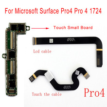 STARDE замена кабеля для microsoft поверхности Pro4 Pro 4 1724 сенсорный ЖК-дисплей Flex кабельные разъемы небольшой совет