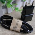 Ue plug ac cargador de pared adaptador con 1 m usb de sincronización de datos cargador de cable de alambre de la cuerda para samsung galaxy s6 s7 j3 j5 j7 Android