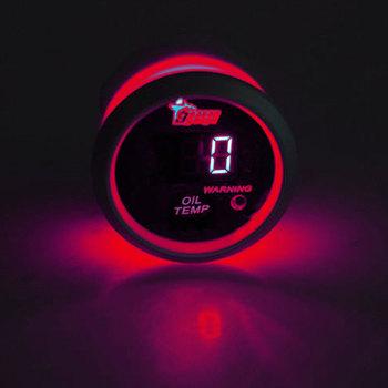 EE wsparcie akcesoria samochodowe 52mm wyświetlacz LED cyfrowy wskaźnik temperatury Car Styling przyrząd uniwersalny części samochodowe tanie i dobre opinie CXC01721 8 0cm 0 15kg 2002 Avalanche 1500 EE support China CHEVROLET oil temperature gauge 5 2cm
