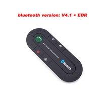 2017 Nueva Llegada Altavoz Multipunto Bluetooth 4.1 Manos Libres Kit de Coche Transmisor FM MP3 Receptor de Música Para El Teléfono Inteligente