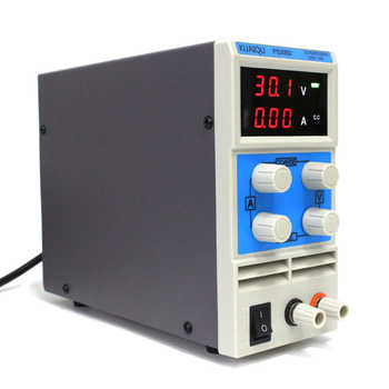 KUAIQU mini DC Power Supply,Switching Power Supply Display Digital Variable Adjustable laboratory power supply 0-30V0-5A PS305D