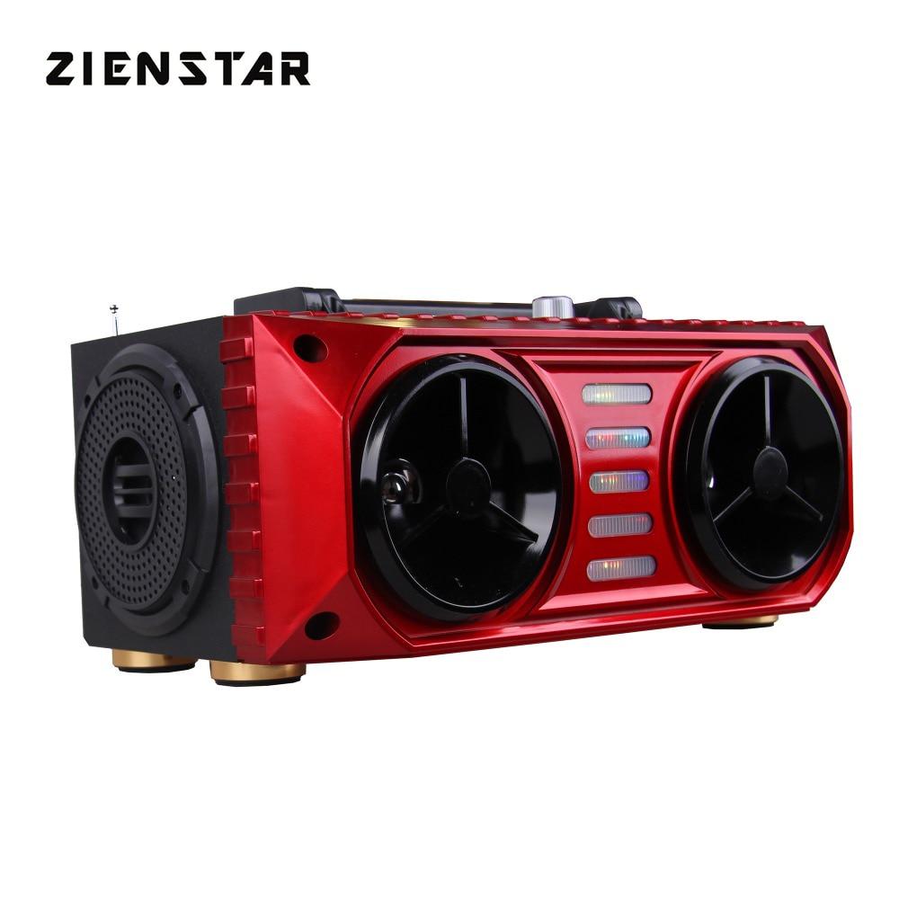 ZIENSTAR 16W  Wireless Bluetooth Sports Speaker ,Portable Outdoor Subwoofer ,Support TF/USB card ,FM Radio
