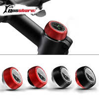 Waterproof Bicycle Headset Stem Watch Computer Bike Vehicle Clock Cycling Head Parts Timepiece Headset Top Cap Stem Cover