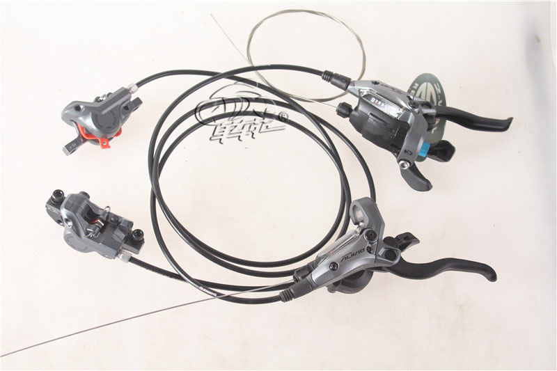 SHIMANO M4050 Hydraulic Brake Intergrate with 3x9S Shift lever MTB Mountain Bike 2016 new shimano m4050 hydraulic brake intergrate with 3x9s 27s shift lever mtb mountain bike calipers left