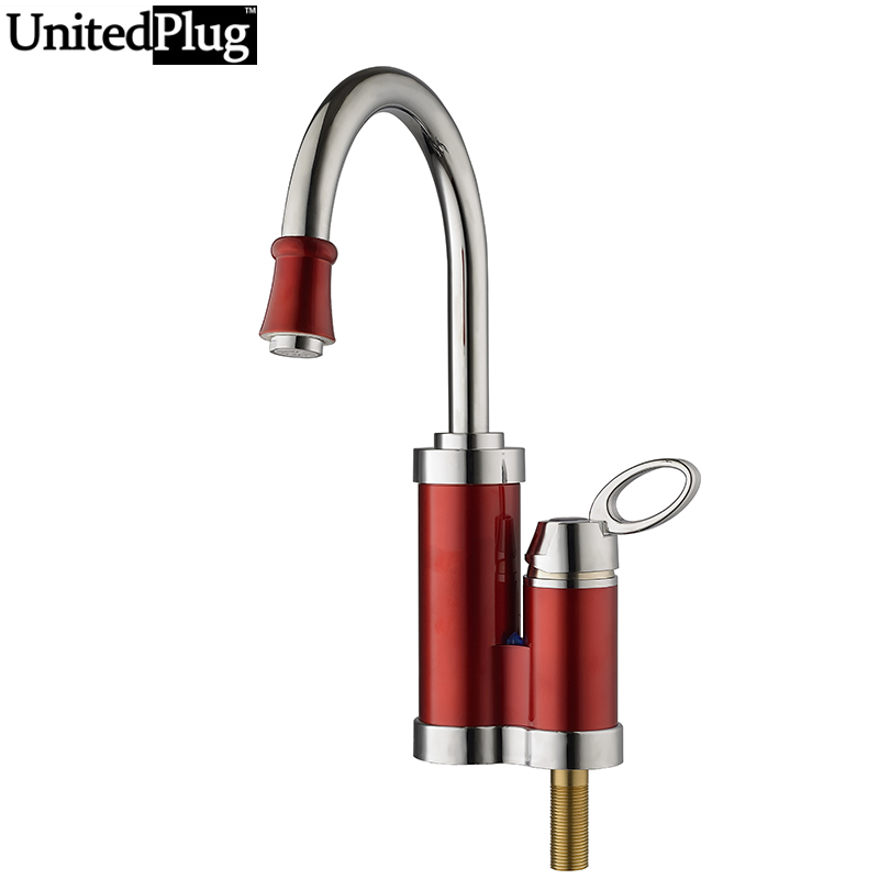 ФОТО UnitedPlug 3 Second Instant Heating Faucet Fast Heating Water Heater KY-6DL-3XH