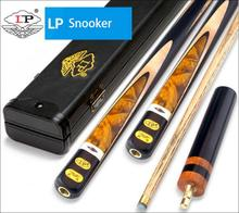 New Gorgeous LP High-end Excellent Handmade 3/4 Piece One Snooker Cue Kit with Good Case 10mm Billiard Stick 2019