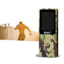 """Армейский зеленый ruizu X02 8 г MP3 музыкальный плеер Спорт MP3 с 1.8 """"TFT экран, 8 ГБ с fm, электронная книга, часы, данные высокое качество Mp3"""