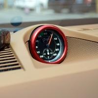 FIT FOR Porsche Panamera 971 2017 2018 Aluminium Alloy Interior Accessories Center Clock Compass Cover Ring Trim 1PCS