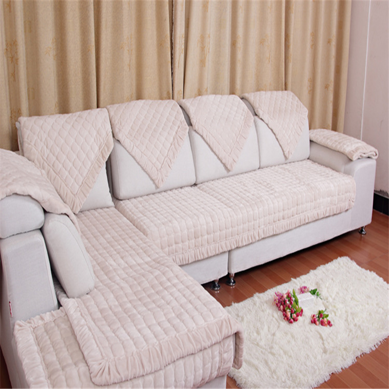 couch blanke Thick Warm Fleeced Blanket On The Sofa L