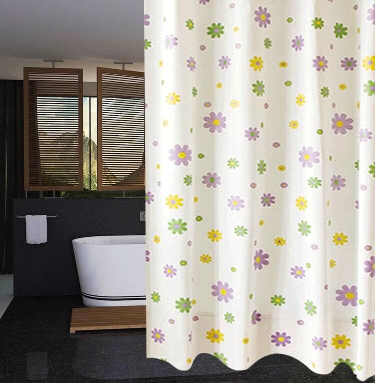 RUBIHOME Shower Curtain For Bathroom PEVA Thicken ...
