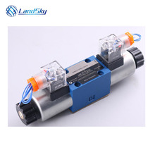 solenoid hydraulic valve electric hydraulic solenoid valve flow control valves in hydraulic systems 4WE6J60/SG24N9K4/B10 25 104700 group hydraulic solenoid directional valve 12v for jcb 3cx 25 103000