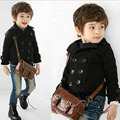 New Kids Winter Coats Thick Warm Children's Jackets England Handsome Manteau Enfant Garcon Flannel Winterjas Jongens