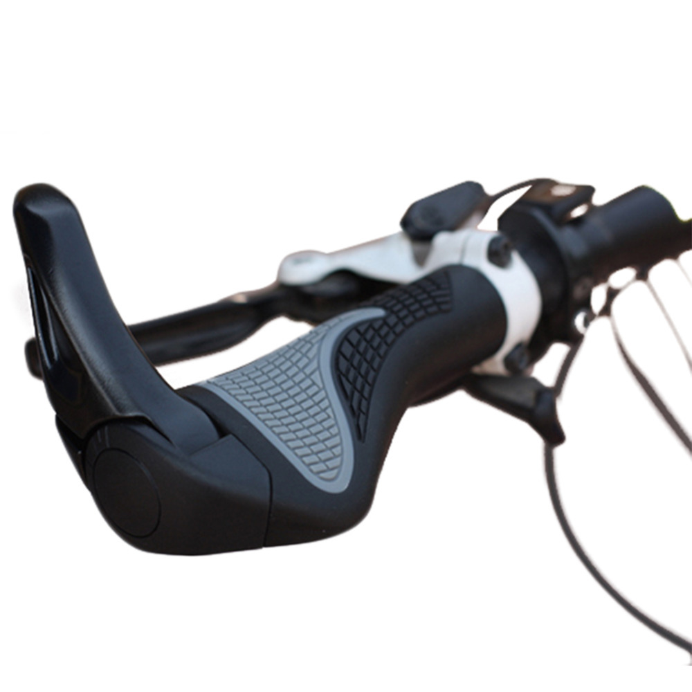 EIN Paar von BMX MTB Fahrrad Bike Griff Bar Griffe Weiche Schaum Alluminum Legierung Sperre Ergonomische Design Hand Griffe /(schwarz/)