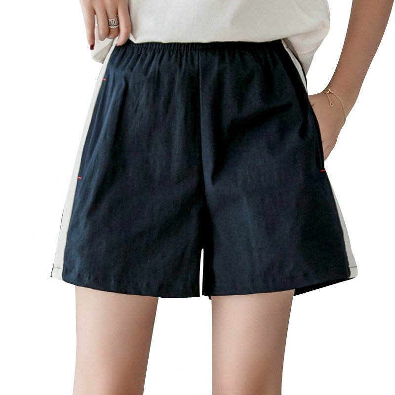 2019 Shorts Femme Hot Summer Casual Shorts Beach High Waist Short Fashion Tightness A Word Skirt Lady Shorts For Women