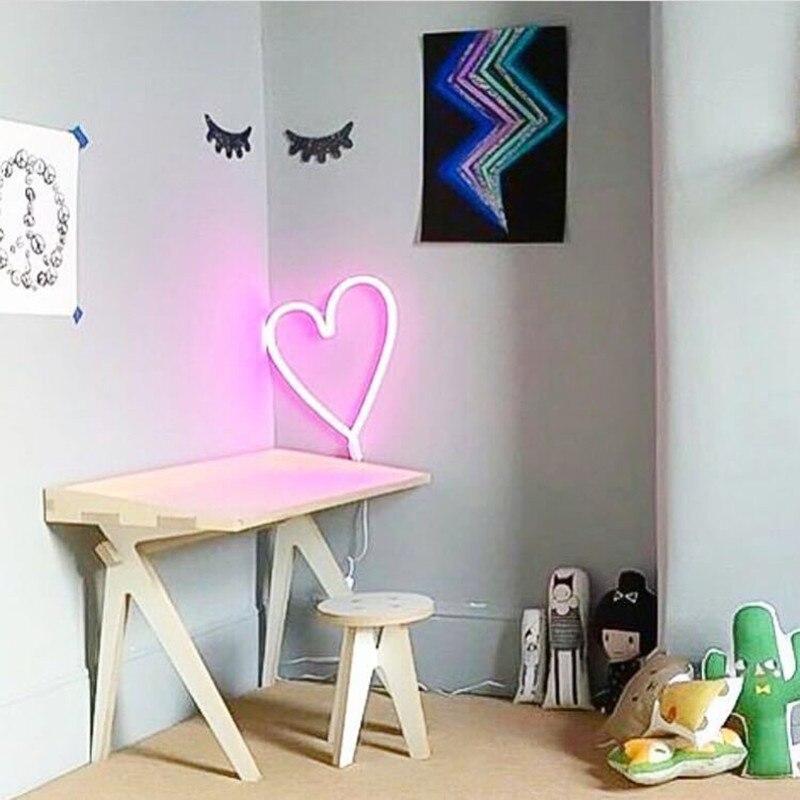 aliexpress koop nieuwe usb muur neon verlichting voor kamers