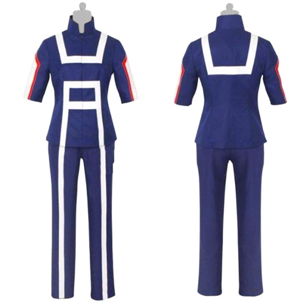 Anime Boku No Hero Academia My Hero Academia Midoriya Izuku Bakugou Midoriya Iida Gym School Sportswear Cosplay Costume
