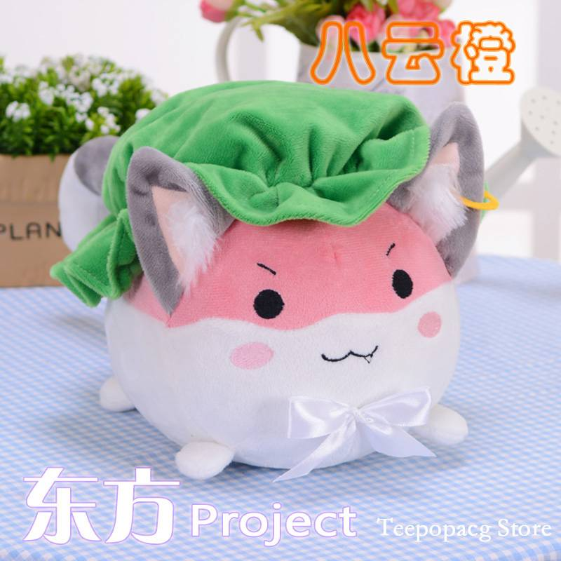 TouHou Project plush figure toy anime Chen pet doll 35cm soft pillow high quality gift