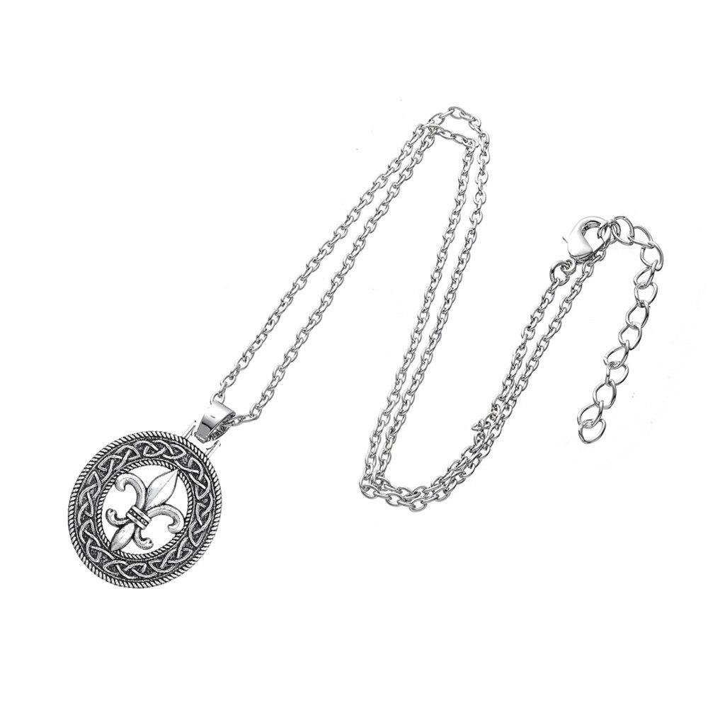 Lemegeton Medievale Fleur De Lis Charmes Pour La Fabrication De