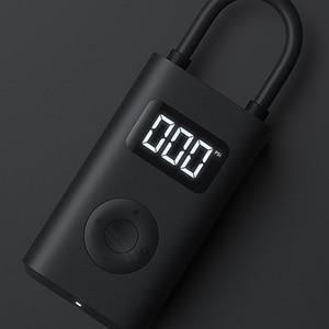 Image 5 - Портативный Умный Цифровой датчик давления в шинах Xiaomi Mijia, Электрический автомобильный насос для накачки шин, велосипедов, мотоциклов, автомобилей, футбольных мячей