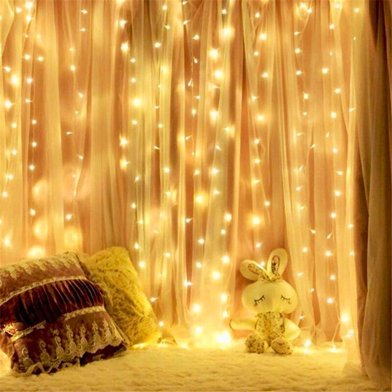 Diy 5 Pvc Led Landscape Lights: USB Port DC5V 3x3m 300led Christmas DIY LED Garden Light