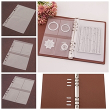 DIY Scrapbooking Cutting Dies Stencil Storage Book Case Organizer Inner Page Die Cutter Template Books Collections Paper Craft fools die page 4 page 6