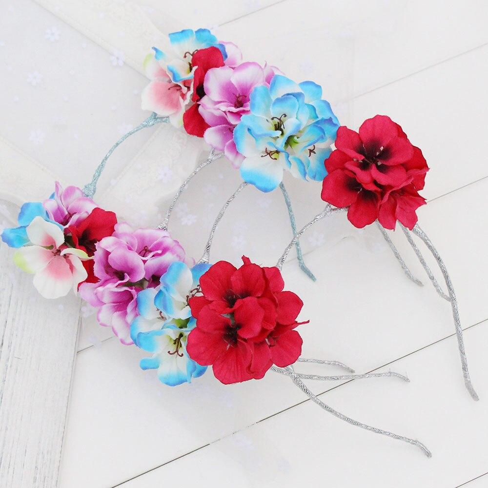 Galleria real flower hair accessories all Ingrosso - Acquista a Basso  Prezzo real flower hair accessories Lotti su Aliexpress.com 8b4e16e25e2f