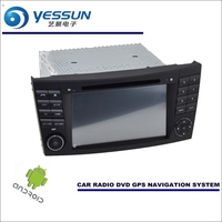 Car Android Player Navi Radio Stereo CD DVD GPS Navigation Multimedia For Mercedes Benz E Class