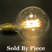 10W Clear Glass Large Globe G125 E27 LED Filament Edison Light Bulb 220V 230V 240V AC Dimmable Bombilla De Filamento LED Ampoule
