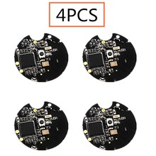 4pcs nrf51822 블루투스 4.0 무선 모듈 ibeacon 기지국 포지셔닝 비컨 필드 포지셔닝 배터리 (쉘 포함)