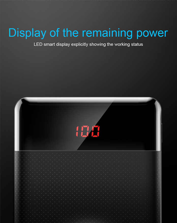 Baseus Mini Cu Digital Display Power Bank Pakistan brandtech.pk