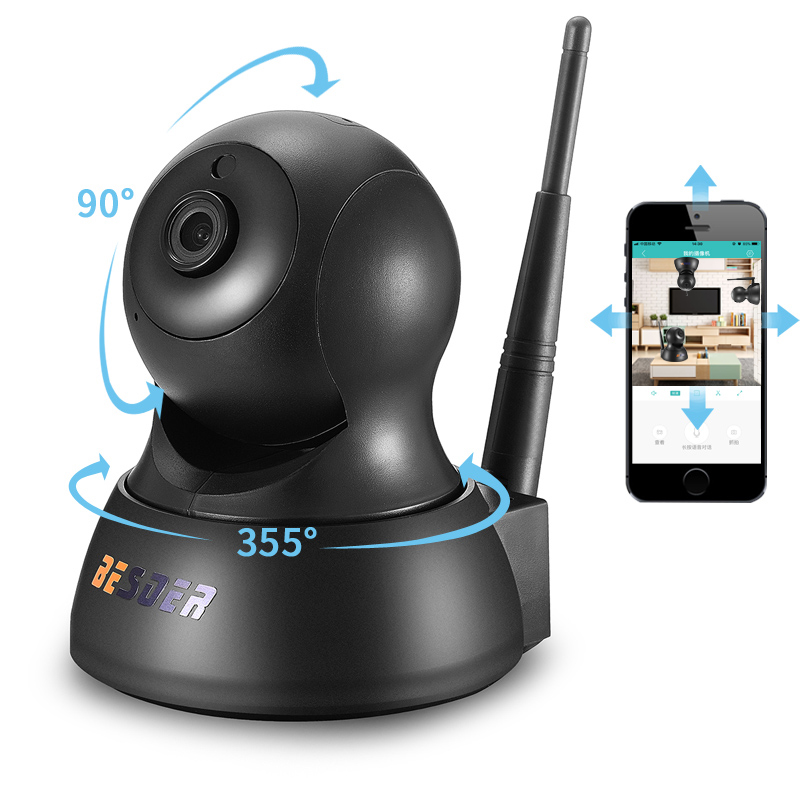 BESDER 720P IP Camera Wifi PTZ Security IR Night Vision Two Way