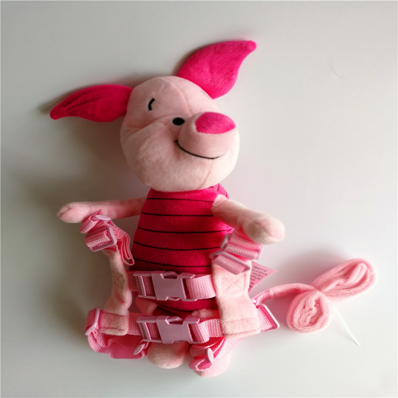 Piglet Harness Animal Reins Pig Harness Buddy Plush Toy Backpack Baby Safty Harness Piggy