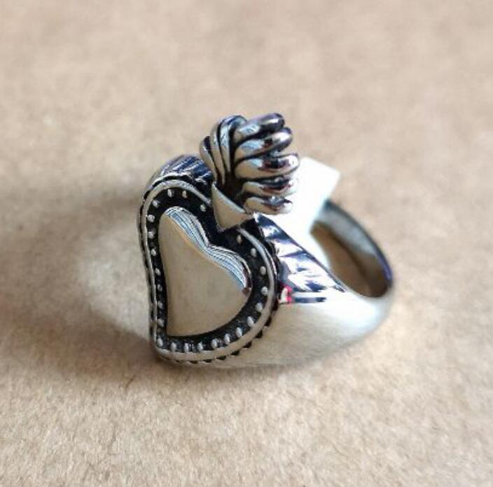 Freundlich Großhandel Mode Crown Herz Ring Edelstahl Schmuck Irish Celtic Knoten Symbol Biker Hochzeit Ring Für Frauen Mädchen Swr07731 Hochzeits- & Verlobungs-schmuck