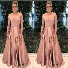 Zarif A-Line elbise Damat