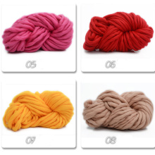 Blended yarn Korea Super coarse wool Icelandic Large thickness hat line rough baby scarf coat New 250g QW018