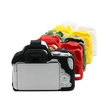 Рюкзак для гарнитуры сумка Мягкий силиконовый резиновый корпус Защитная сумка для цифровой однообъективной зеркальной камеры Canon EOS 200D Rebel SL2 поцелуй X9 DSLR