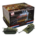 Free Shipping 8pcs Tank Model Assembly The 2nd Version 1:72 Scale Boxed Toy Puzzle Figure Boy Gift (8pcs per Set)